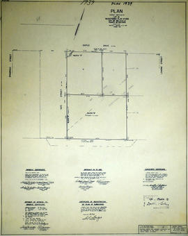 Subdivision of Lot 36 in the City of Belleville