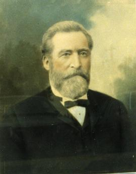 Portrait of John Forin, the contractor who built Belleville City Hall Belleville, Ontario.