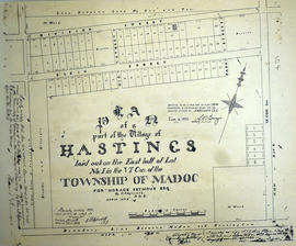 Plan of part of Lot 1 the village of Hastings