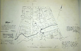 Plan of part of the village of Shannonville