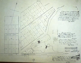 Plan of part of east Lot 11 in the village of Rawdon (Stirling)