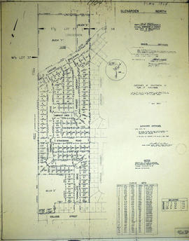 Subdivision of part of Lot 37 in the City of Belleville