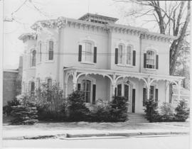 Scanned photograph of 153 Victoria Avenue, Belleville