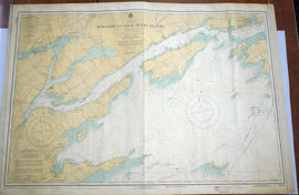 Map of Kingston to False Ducks Island