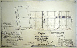 Plan of South Hastings in the Township of Huntingdon
