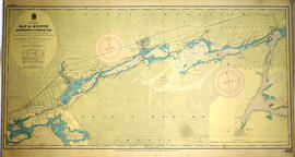 Hydrographic Map of Deseronto to Presqu'ile
