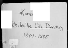 Kimballs' Belleville City Directory for 1884 and 1885