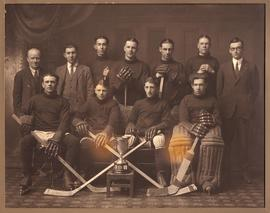 Digital copies of photographs of Deseronto High School hockey teams