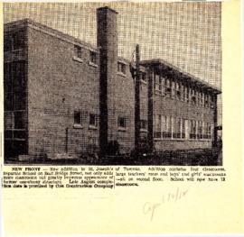 St. Joseph's Separate School 1962