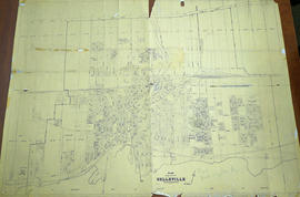 Plan of the City of Belleville 1958