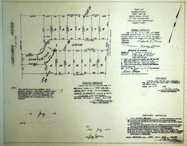 Plan of subdivision of part Lot # 28 in the Township of Thurlow