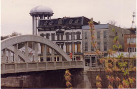 Photograph of Upper Bridge and Henderson Building, Belleville