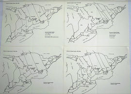 Maps of the Districts of Upper Canada