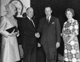 Stan and Edith Hagerman with ? and wife