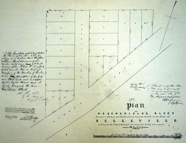 Plan of Greenshield's Block in the town of Belleville