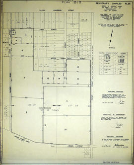 Graphic Index of Lot 37, Belleville