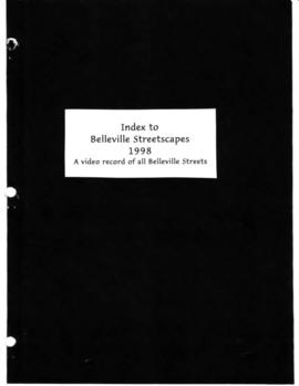 Belleville streetscapes project, 1998