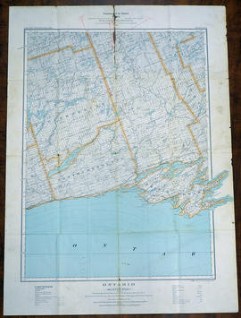 Topographical Map of Ontario - Belleville Sheet