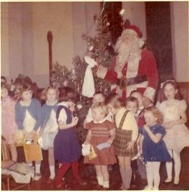 Digital copy of photograph of Christmas party