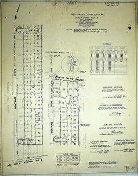 Registrar's Plan of Lots 6, 27-28 in the Township of Sidney