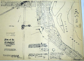 Plan of the village plot of Elmsley