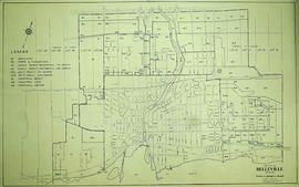 Plan of the City of Belleville 1960