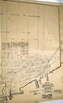 Plan of town of Deseronto
