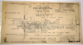 Plan of the village of Maynooth in the County of Hastings