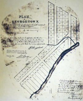 Plan of Georgetown in the Township of Hungerford