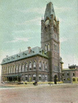 Post card of City Hall, Belleville, Ontario.