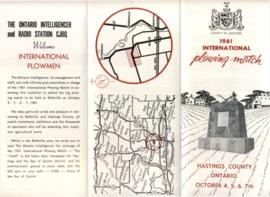 1961 International Plowing Match Brochure