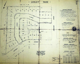 Subdivision of Lesley Park in the City of Belleville