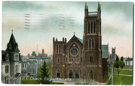 S. Mary R.C. Church, Berlin, Canada (front)