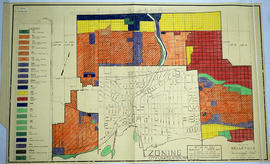 Zoning Map of Belleville 1959-1970