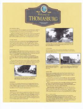 Digital photographs of locations in Thomasburg, Ontario