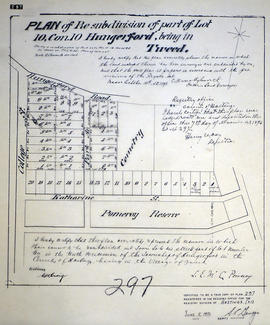 Plan of Revision of Lot 10 in the Village of Tweed