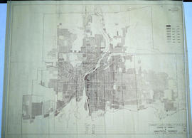 Map of Belleville's Growth from 1816-1965