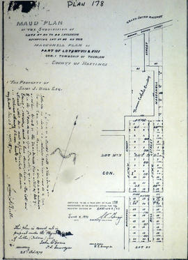 Maud Plan of Subdivision of Lots 30-44 in Belleville