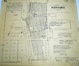 Plan of the incorporated village of Marmora 1901