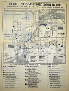City of Belleville map from Intelligencer