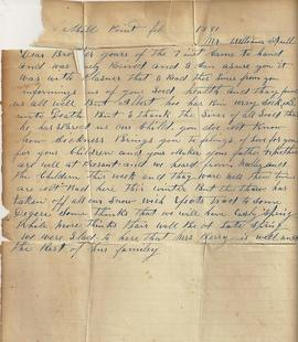 Letters found in former Cronk property in Deseronto, Ontario