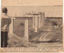 Article on building of Skyway Bridge