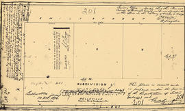 Plan of Subdivision of Lot 39 in the Township of Thurlow