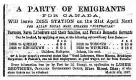A Party of Emigrants