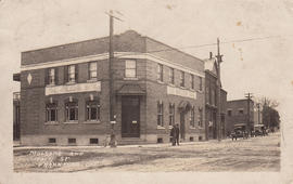 Digital copies of photographs of former bank in Frankford