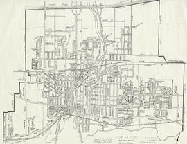 Map of the City of Belleville by Fox and Fox