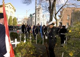 Deseronto Remembrance Day photographs