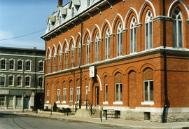 City Hall in Belleville, Ontario taken from Market Street.
