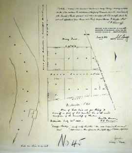Plan of Wellington Plot in the Township of Thurlow