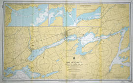 Hydrographic Map of Bay of Quinte, Picton to Presqu'ile Bay